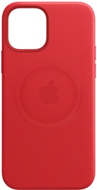 Apple MagSafe Leather Back Case For Apple iPhone 12/12 Pro Red
