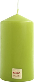 Eika Pillar Candle 11x6cm Green
