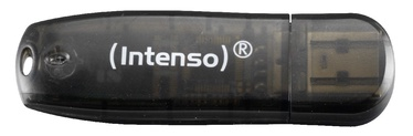 USB atmintinė Intenso Rainbow Black, USB 2.0, 16 GB