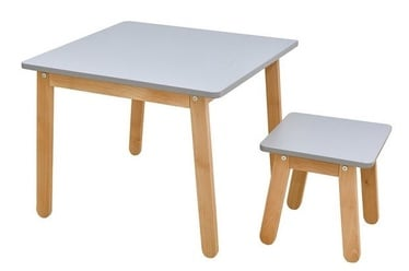 Bērnu mēbeļu komplekts Bellamy Woody Table And Stool Grey