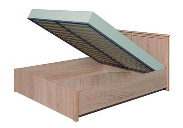Кровать Glazov Sherlock Oak, 160 x 200 cm