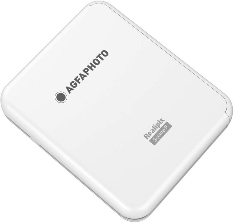 AgfaPhoto Square Printer White ASQP33WH