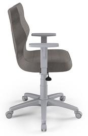 Офисный стул Entelo Duo AL02, коричневый/серый