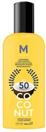 Mediterraneo Sun Coconut Suntan Oil Dark Tanning SPF50 100ml