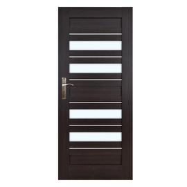 Vidaus durų varčia Everhouse Bari, wenge, dešininė, 64.4x203.5 cm