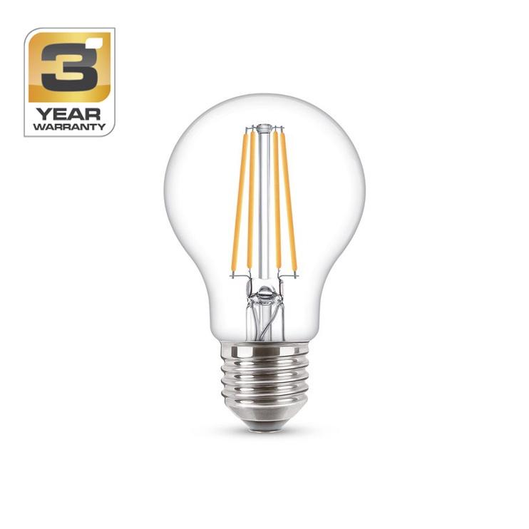 SPULDZE LED FIL A60 4W E27 WW CL ND 470 (STANDART)