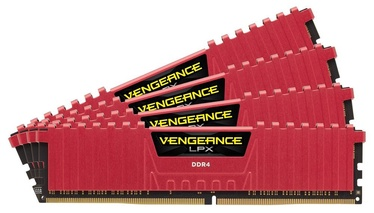 Corsair Vengeance LPX 32GB 2400MHz DDR4 CL14 KIT OF 4 CMK32GX4M4A2400C14R