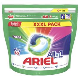 Pesukapslid Ariel Color, 65 tk