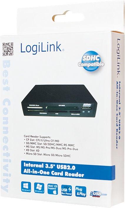 "LogiLink Internal 3.5"" CR0012"