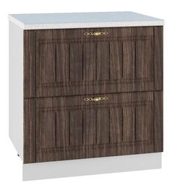 DSV Imperia SK2 800 Kitchen Bottom Cabinet Walnut