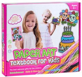 Popierinių figūrų gaminimo rinkinys Paper Art Textbook For Kids