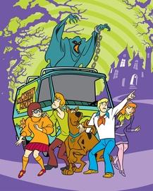 Faro Tekstylia Blanket Scooby Doo 120x150cm