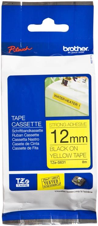 Этикет-лента для принтеров Brother TZe-S631, 800 см