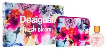 Desigual Fresh Bloom 100ml EDT + Cosmetic Bag