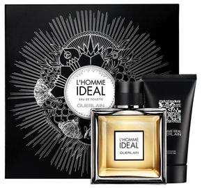 Набор для мужчин Guerlain L´Homme Ideal 100 ml EDT + 75 ml Shower Gel New Design