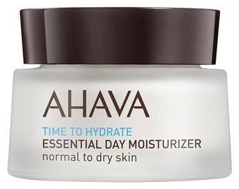 Sejas krēms AHAVA Time to Hydrate Essential Day Moisturizer Normal To Dry Skin, 50 ml
