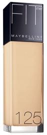 Tonālais krēms Maybelline Fit Me SPF18 125 Nude Beige, 30 ml