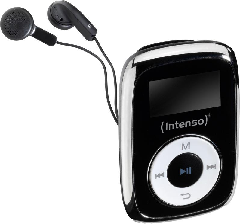 Музыкальный проигрыватель Intenso 3614560, черный, 8 ГБ