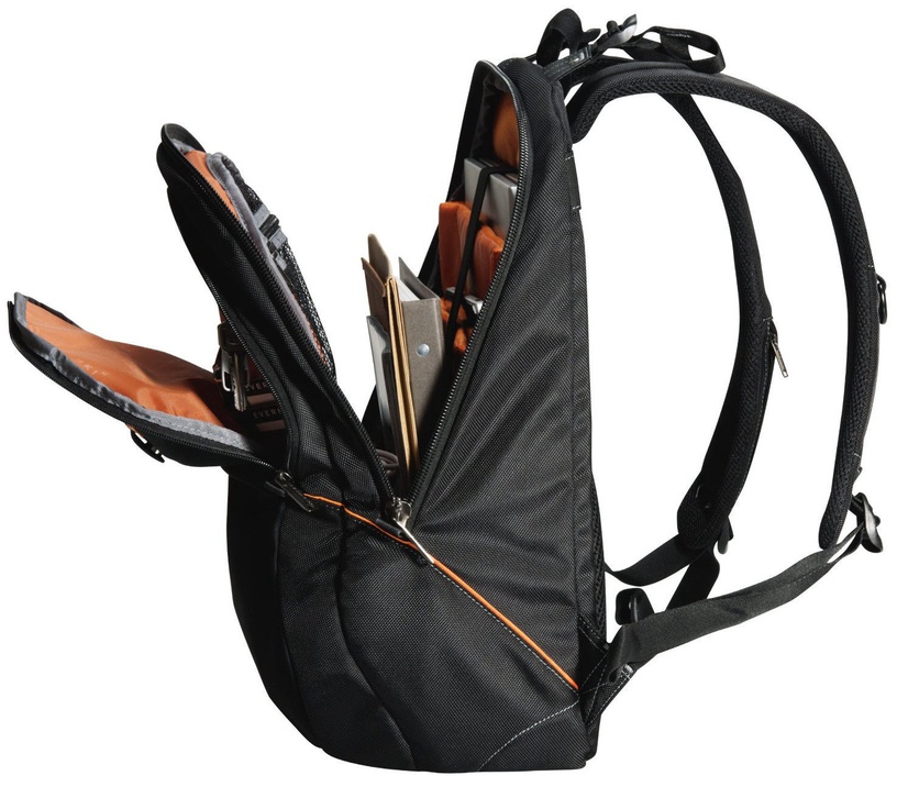 "Everki Glide Backpack 17.3"" Black/Orange"