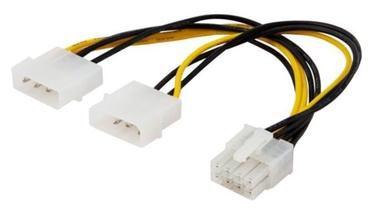 Savio Cable Molex x 2 / 8pin EPS 0.18m