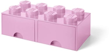 Room Copenhagen LEGO Brick Drawer 8 Light Pink