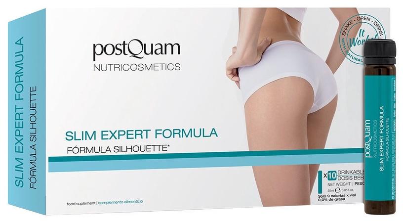 Сыворотка для тела PostQuam Professional Slim Expert Formula Silhoute, 250 мл, 10 шт.