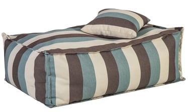 Home4you Floor Cushion Stripe + Pillow Multicolor