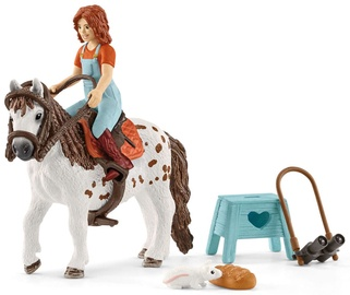Žaislinė figūrėlė Schleich Horse Club Mia & Spotty 42518