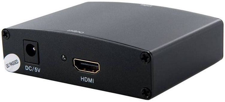 4World Converter VGA + R/L Audio To HDMI