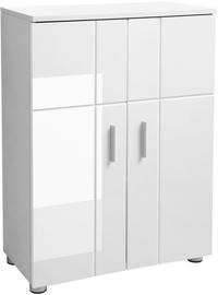 Songmics Bathroom Cabinet White 60x30x82cm