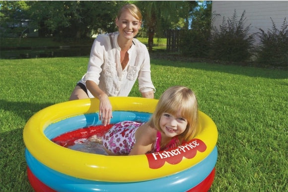 Bestway Fisher-Price 3-Ring Ball Pit Play Pool 91x25cm