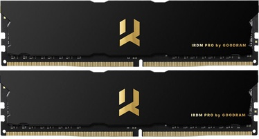 Goodram IRDM PRO Black 16GB 3600MHz CL17 DDR4 KIT OF 2 IRP-3600D4V64L17S/16GDC
