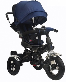Tesoro BT-12 Baby Tricycle Black Navy Blue