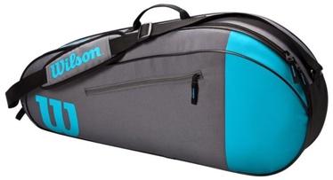 Спортивная сумка Wilson Team, синий/серый