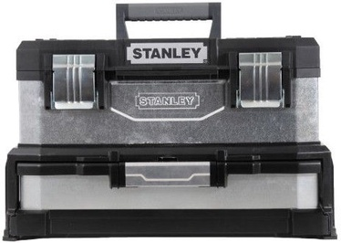 Stanley Metal-Plastic Tool Box with Drawer