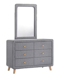 Signal Meble Malmo Dressing Table Gray