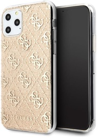Guess 4G Glitter Back Case For Apple iPhone 11 Pro Max Gold