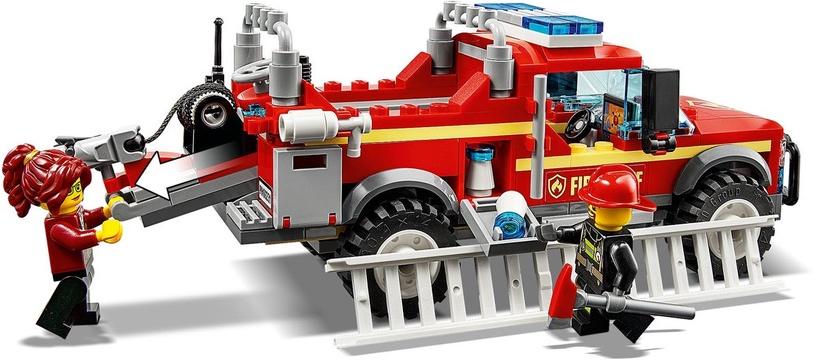 Konstruktor LEGO® City 60231 Tuletõrjeülema päästeauto