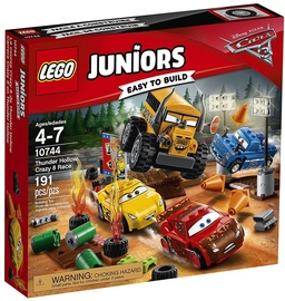 Konstruktors LEGO Juniors Thunder Hollow Crazy 8 Race 10744