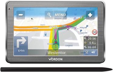 Vordon GPS Navigation 7'' Aluminium