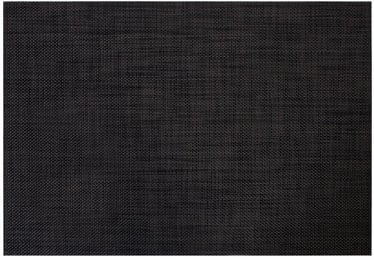 Home4you Textiline Table Mat Black Linen