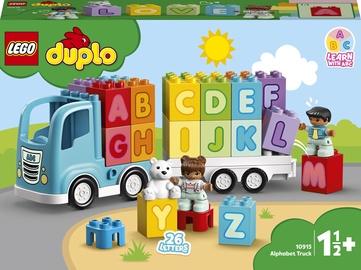 Конструктор LEGO Duplo Грузовик «Алфавит» 10915, 36 шт.