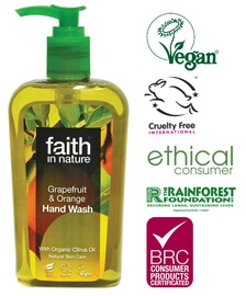 Faith in Nature Grapefruit&Orange Hand Wash 300ml