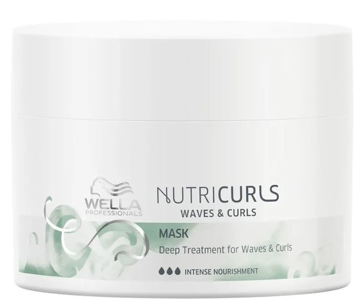 Wella Professionals Invigo Nutricurls Mask For Waves & Curls 150ml
