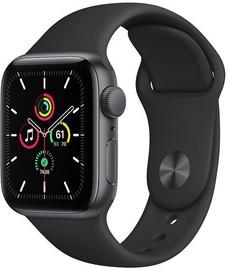 Apple Watch SE GPS 40mm Space Gray Aluminum Black Sport Band (pažeista pakuotė)