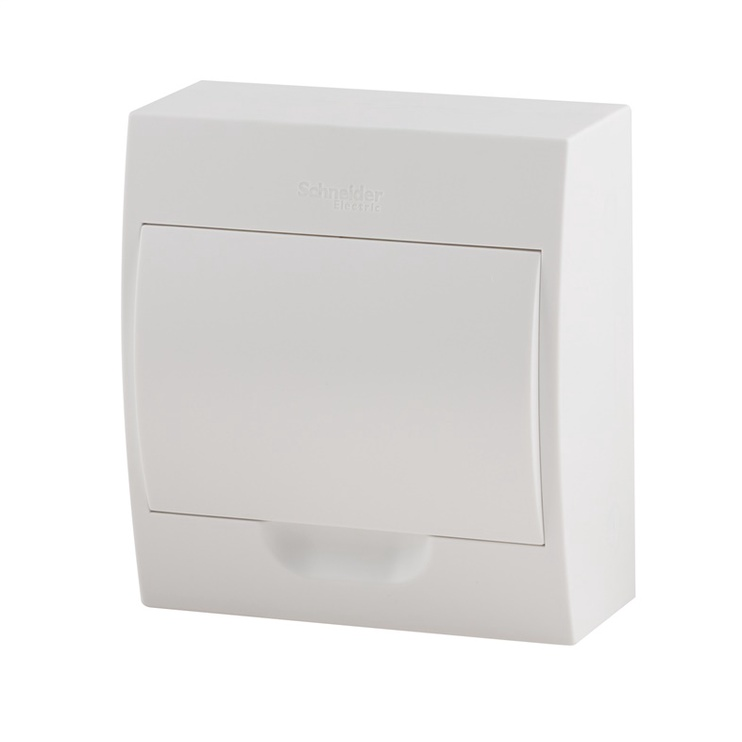 Virštinkinė automatinių jungiklių dėžutė Schneider, 8 modulių