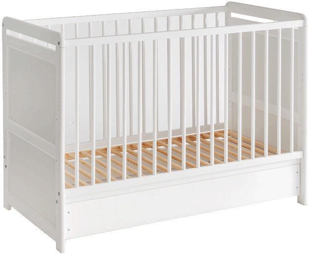 Vaikiška lova ASM Tymek White, 56x124 cm
