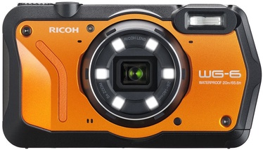 Ricoh WG-6 Digital Camera Orange Kit