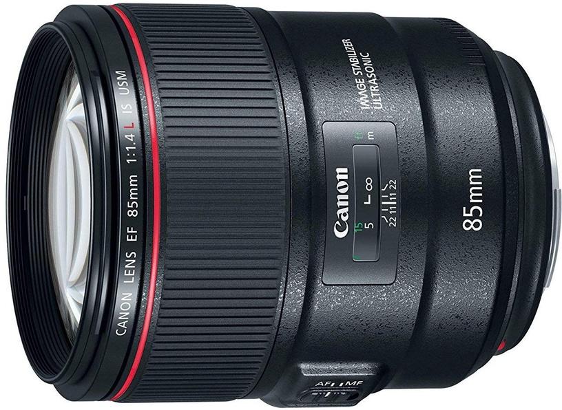 Objektiiv Canon EF 85mm f/1.4 L IS USM, 950 g
