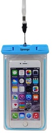 Sponge Dry Waterproof Bag Transparent/Blue